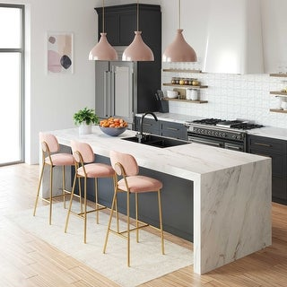 Link to Ariana Blush Counter Stool (Set of 2) Similar Items in Dining Room & Bar Furniture
