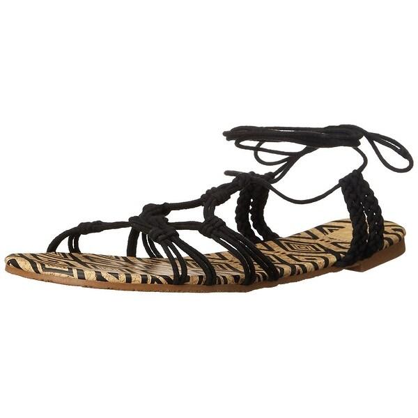 Shop Roxy Womens Mari Open Toe Casual Gladiator Sandals