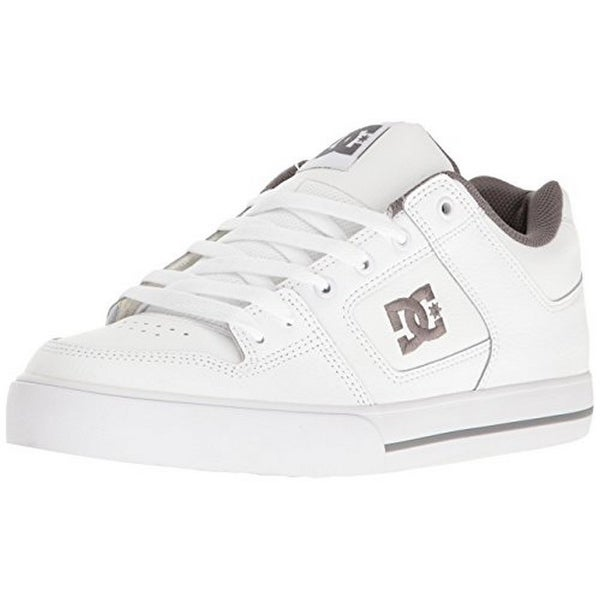 Dc Mens Pure M Shoe, White/Battleship/White, 9.5