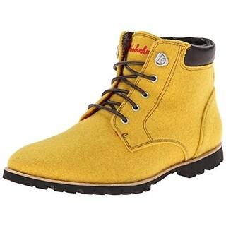 Woolrich Womens Beebe Wool Wool Contrast Trim Chukka Boots - 9 medium (b,m)