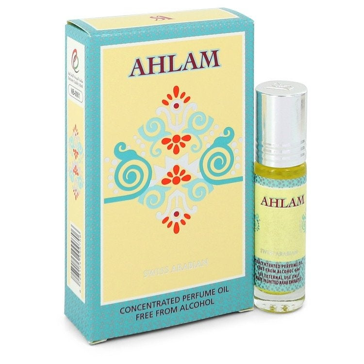 Swiss Arabian Ahlam by Swiss Arabian Concentrated Perfume Oil Free from Alcohol .20 oz For Women (Up To 1 Oz.)