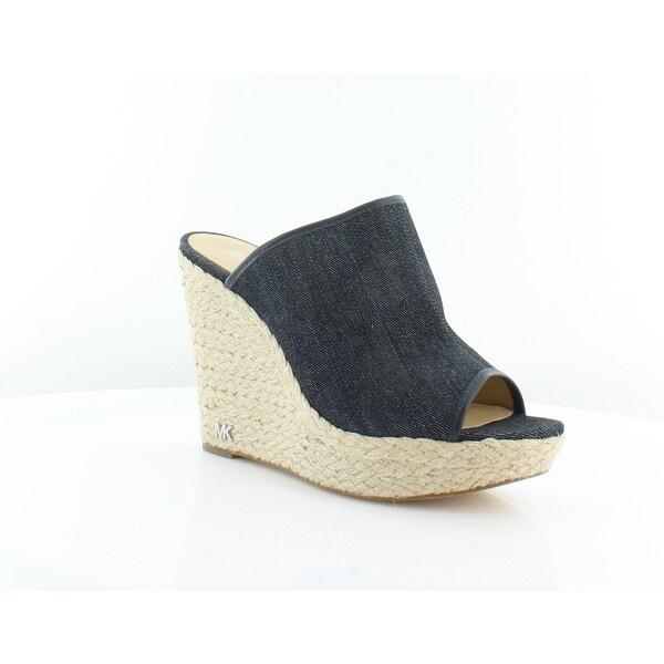 Michael Kors Hastings Mule Sandals Women's Sandals & Flip Flops DK Denim - 9.5