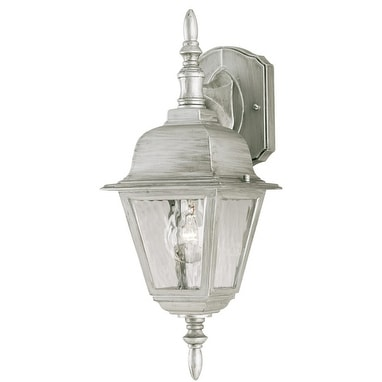 "Westinghouse 67850 Outdoor Wall Lantern Fixture, 16-3/4"" x 6"" x 7"""