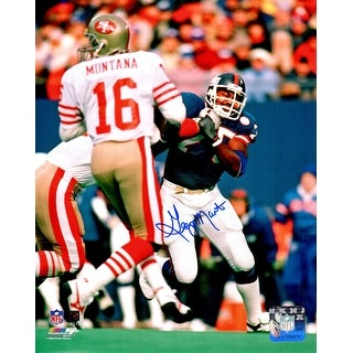 George Martin New York Giants Action 8x10 Photo