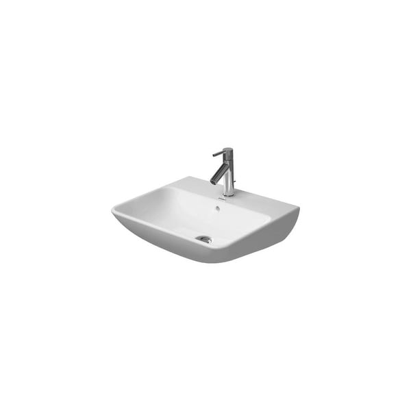 """Duravit 2335550000 ME by Starck 21-5/8"""" Wall Mounted or Pedestal Bathroom Sink with Single Hole"""
