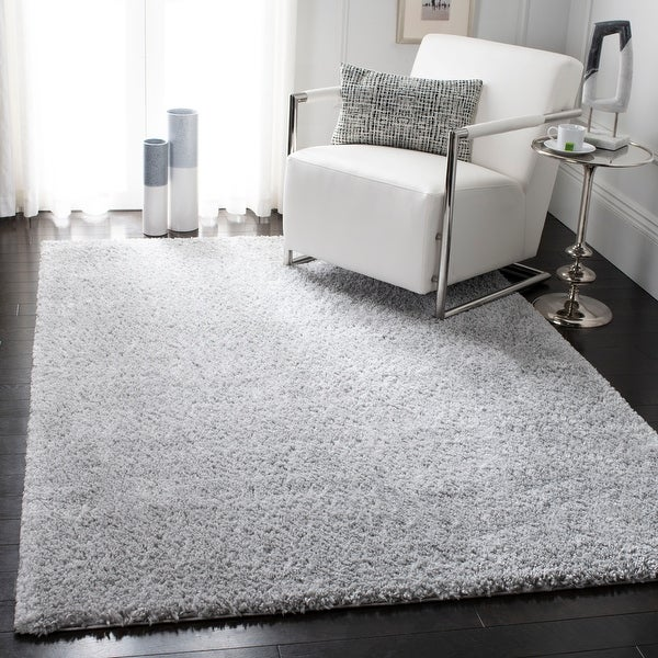Safavieh August Shag Margeret Solid 1.25-inch Thick Rug. Opens flyout.