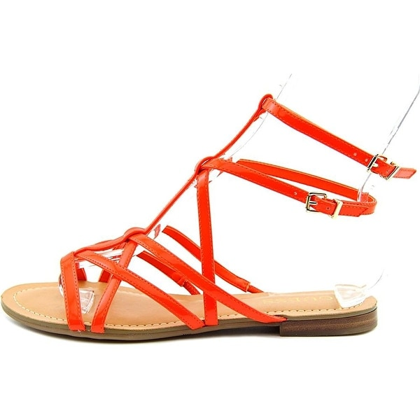GUESS Womens Mannie Open Toe Casual Gladiator Sandals