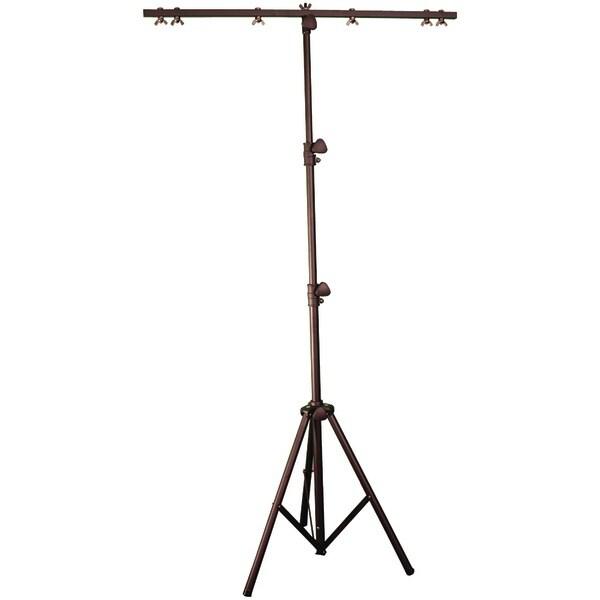 ELIMINATOR LIGHTING E132 Tri-32 Light Stand, 9ft