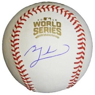 Ben Zobrist Signed Rawlings Official 2016 World Series MLB Baseball