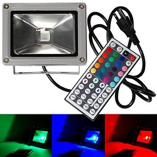 eTopLighting LED 20W Flood Light, RBG