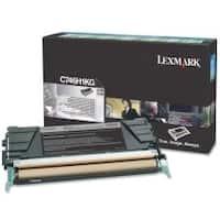 Lexmark C746H4KG Lexmark Toner Cartridge - Black - Laser - High Yield - 12000 Page - 1 Each