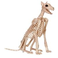 Skeleton Doberman Halloween Decoration
