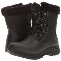 Muck Boots Black/Charcoal Women's Arctic Apres Lace Mid Boot - Size 8
