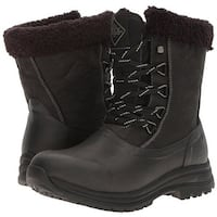 Muck Boots Black/Charcoal Women's Arctic Apres Lace Mid Boot - Size 7