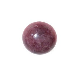 Pink Rhodonite Gemstone Round Flat-Back Cabochons 13mm (4 Pieces)
