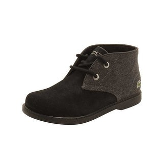 Lacoste Toddler Sherbrook 416 Boots in Black/Dark Grey