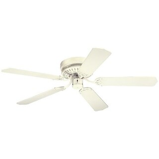 """Westinghouse 7805300 Casanova 52"""" 5 Blade Hugger Indoor Ceiling Fan with Reversible Motor and Blades Included"""