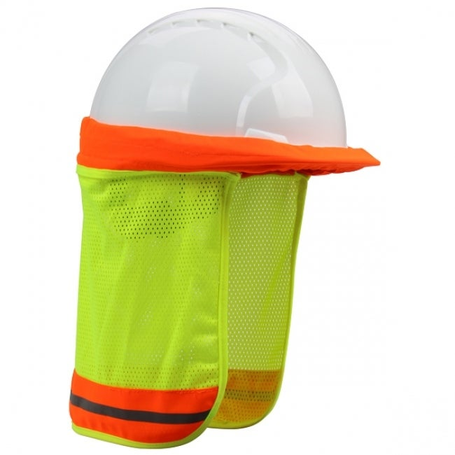 Safety Works 10100321 SunShade Hard Hat with Elastic Strap