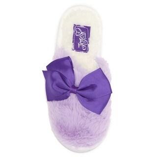 Slippers - Jojo Siwa Purple Bow Sizes S, M, L, XL