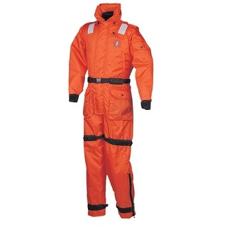 Mustang Survival Mustang Deluxe Anti Exposure Coverall Worksuit L Or Ms2175 L Or