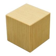 "1 Pc of 5"" Pine Memory Cube"