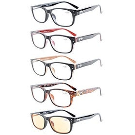 7815a7f7e0e Shop Eyekepper 5-Pack Spring-Hinges Quality Reading Glasses Readers +1.25 -  Free Shipping On Orders Over  45 - Overstock - 15194597