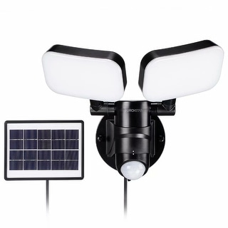Link to LED Solar Motion Sensor Security Light, Adjustable Dual-Head, 2 Modes Similar Items in Electrical