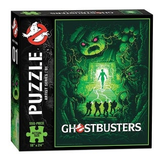 Ghostbusters Artist Series #1 550-Piece Puzzle - multi