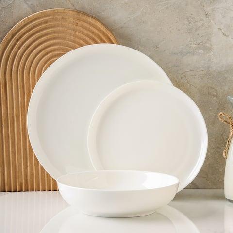 Gabrielle Formal Bone China Dinnerware Service for 4, 12-Piece