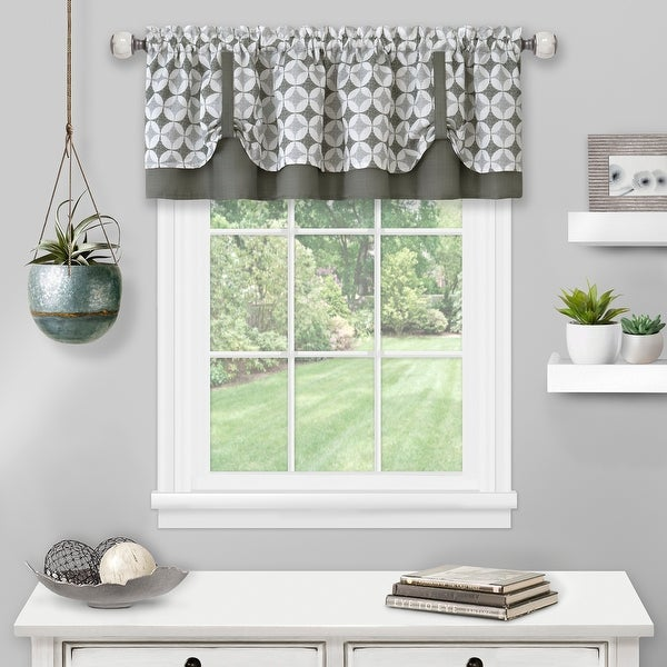 Callie Double Layer Pick Up Valance - 58x14. Opens flyout.