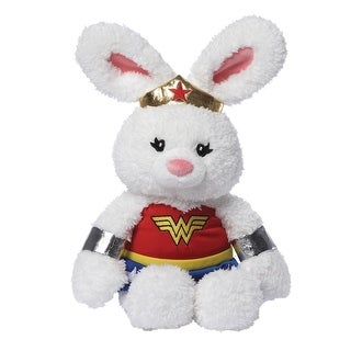 "DC Comics Wonder Woman Bunny by Gund - 12"" x 8"""