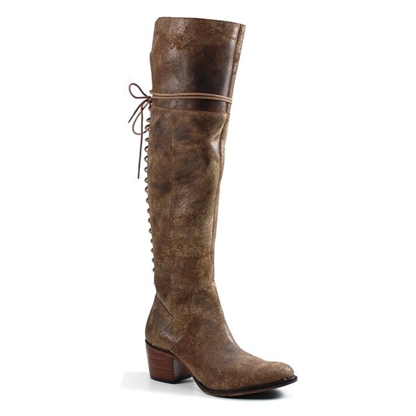 95b20d5b0d Shop Diba True Sunset Sail Lace-Up Over-The-Knee Boots - 7.5 - Free  Shipping Today - Overstock - 22338507