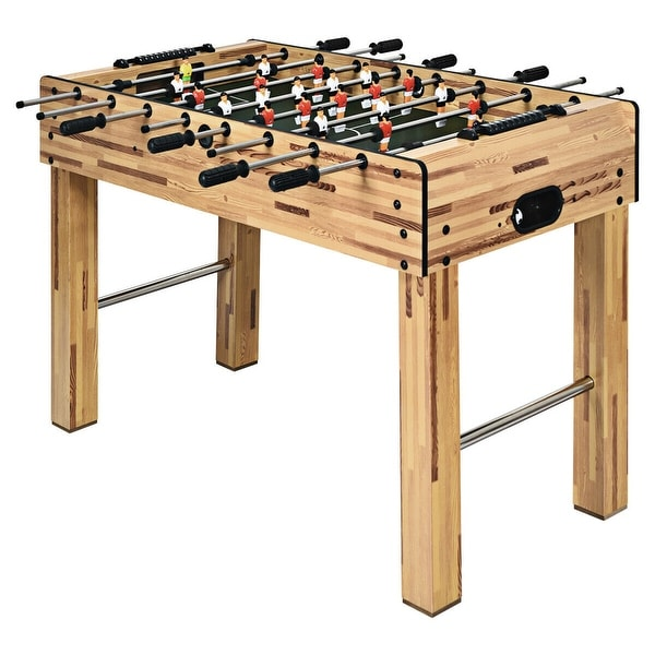 Gymax 48'' Foosball Table Home Soccer Game Table Christmas Families. Opens flyout.