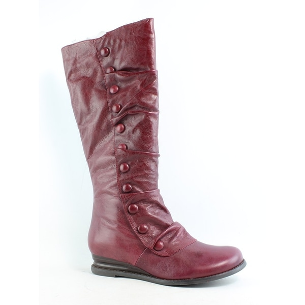 18b1209d3c4d9 Shop Miz Mooz Womens Bloom Red Fashion Boots Size 9.5 - Free Shipping Today  - Overstock.com - 26420727