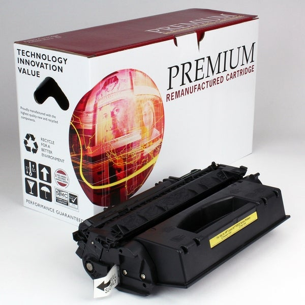 Re Premium Brand replacement for HP 53X Q7553X Toner (7,000 Yield)