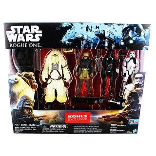 "Star Wars Rogue One 3.75"" Action Figure 4-Pack (Kohl's Exclusive)"