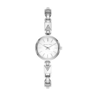 Link to Michael Kors Women's Jaryn Mercer Two-Hand Stainless Steel Diamond Watch - Silver Similar Items in Women's Watches