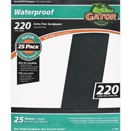 Gator 220B Wet/Dry Sandpaper