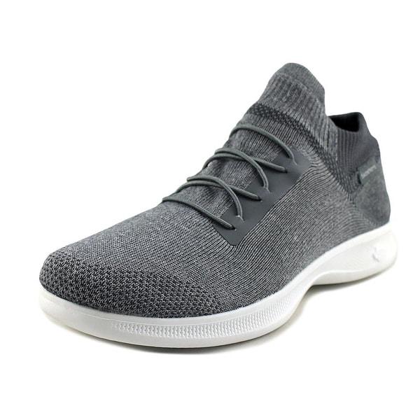 69f200d68d18 Shop Skechers Go Step Lite - Effortless Grey Walking Shoes - Free ...
