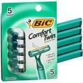 Bic Comfort Twin Shavers For Men Sensitive Skin 5 Each - Thumbnail 0