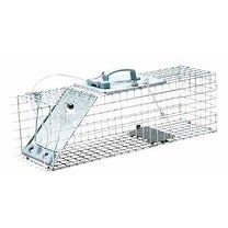 "Havahart 1084 Small Easy Set Live Animal Trap, 24""L x 7""W x 7""H"