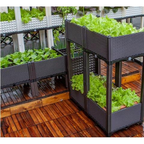 DIY Elevated Garden Vegitable and Flower Planter Box Kit - 5Set