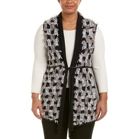 Nic+Zoe Plus Blocked Out Vest