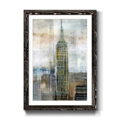 Rainy Paris I-Premium Framed Print - Ready to Hang