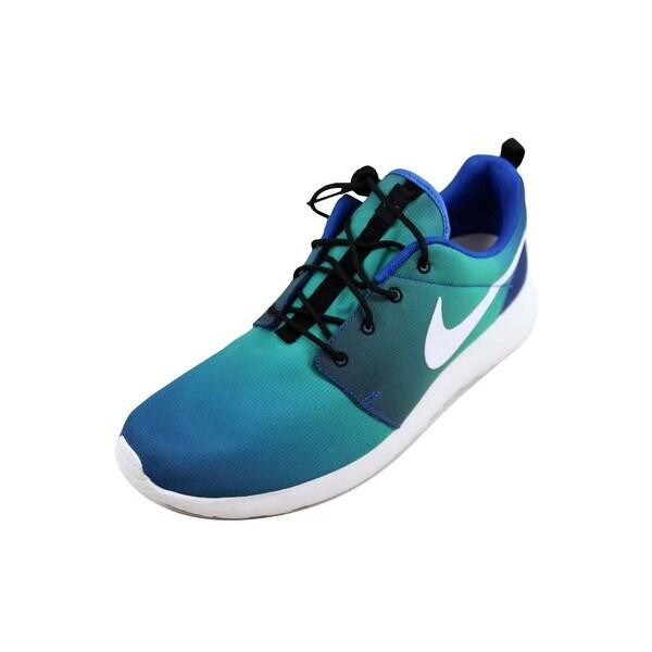 4f0220e8204b Shop Nike Men s Roshe One Print Game Royal White-Light Retro ...