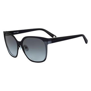 Nine West Womens Square Sunglasses Oversized UV Protection - o/s