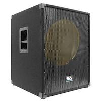 "Seismic Audio  EMPTY 18"" SUBWOOFER PA DJ PRO Audio Band Speaker"