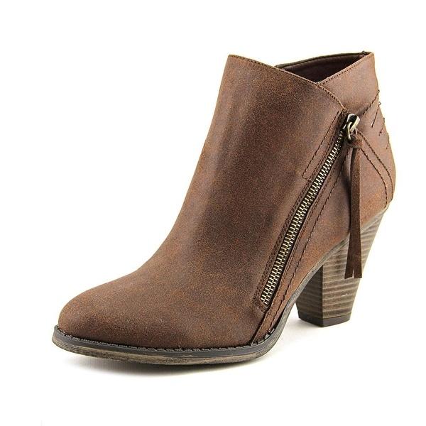 Mia Fresco Women Round Toe Synthetic Brown Ankle Boot