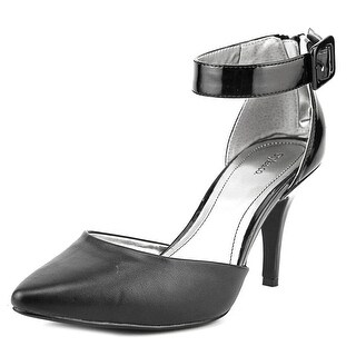 Style & Co Miloe 2 Pointed Toe Patent Leather Heels