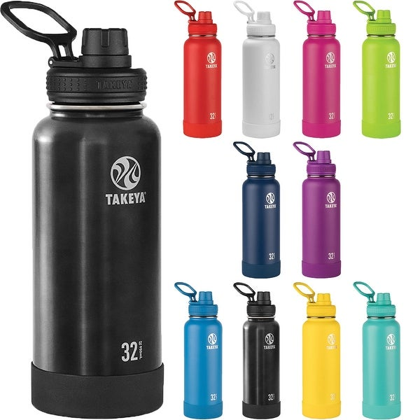 b813301ee2 Insulated Stainless Steel Water Bottle - Free Shipping On Orders Over $45 -  Overstock - 25441005